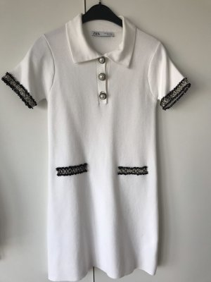 Zara Polo Dress white