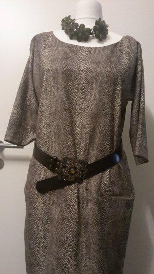 Zara Robe gris brun