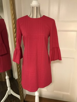 Zara Woman Empire Dress magenta