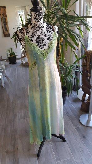 Zara Basic Vestido tipo overol multicolor