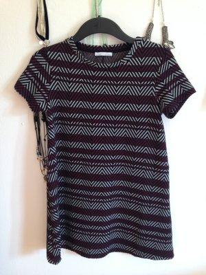 Kleid von Zara (rot, weiß, schwarz)