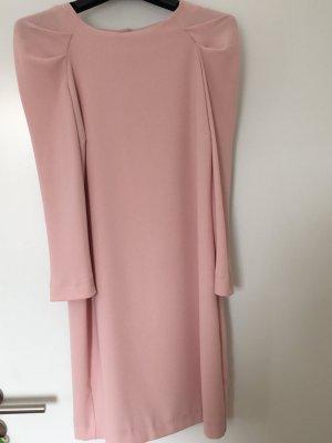 Zara Woman Dress dusky pink polyester