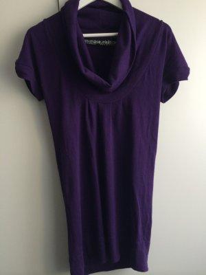 Kleid Wasserfallkragen Zara TRF