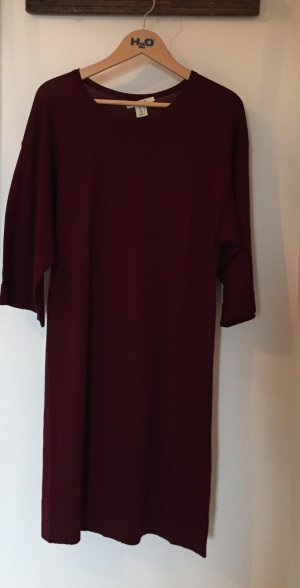 Kleid Weinrot Fledermaus