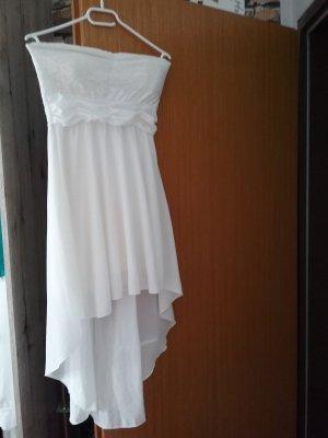 Off-The-Shoulder Dress natural white