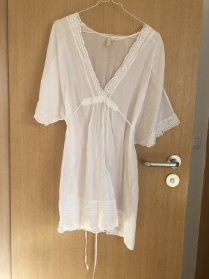 Kleid, weiß, Ibiza-Hippie, Gr. 38, H&M