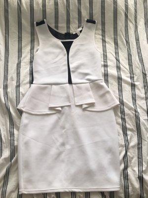 Amisu Evening Dress white-black