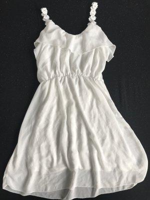 Kleid weiß Sommer M
