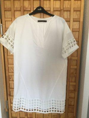 Kleid weiß Sommer Stickerei