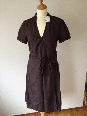 Esprit Wraparound dark brown cotton