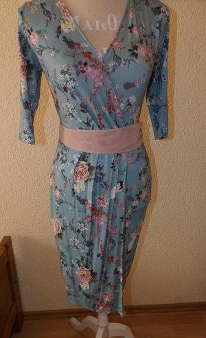 Kleid Wickelkleid floral Orsay 34 XS