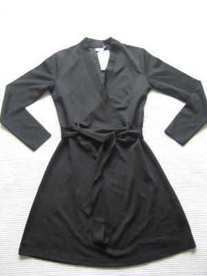 kleid wickelkleid schwarz neu gr. s 36 jacqueline de yong