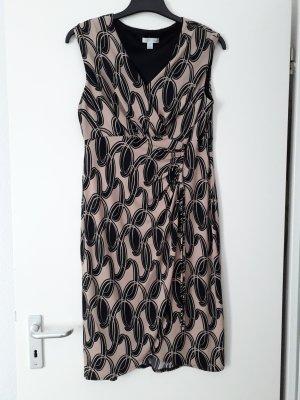 London Times Stretch Dress black-beige