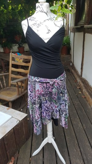 Nicowa Robe portefeuille multicolore polyester