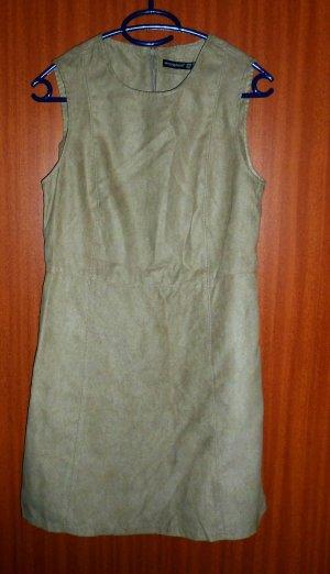 Kleid Wildleder beige Gr. 36 S Primark neu