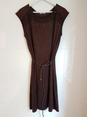 Kleid Wildlederoptik Größe 42