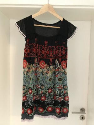 Yumi Hippie Dress black-red