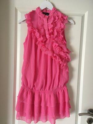 Kleid yumi Pink Rüschen
