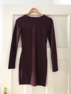 Kleid Zara Dunkelrot Größe S