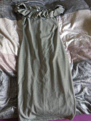 Kleid zara gestreift neu Akt.Kollektion schwarz weiß