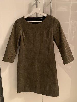 Zara Stretch jurk goud