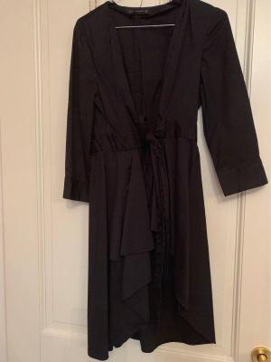 Zara Woman Wraparound black