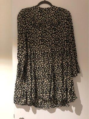 Kleid Zara Leo print schwarz/weiß