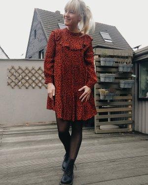 Zara Dress black-red