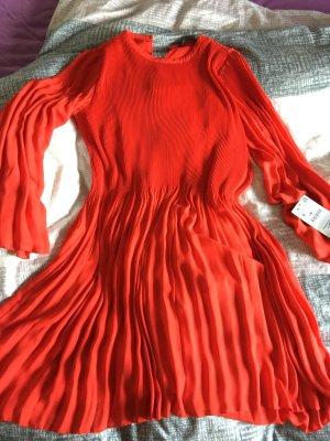 Kleid zara rot gr.s Hochzeit NEU Akt.kollektion