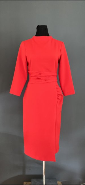 Zara Sheath Dress red mixture fibre
