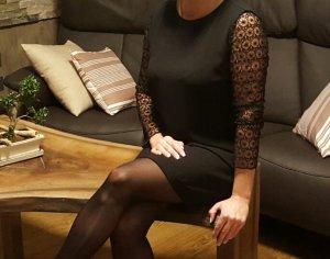 Kleid Zara schwarz Gr M