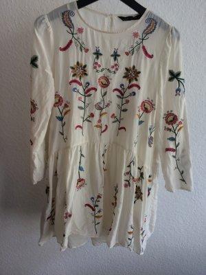 Kleid Zara Tunikakleid Blogger Kleid Folklore Größe M