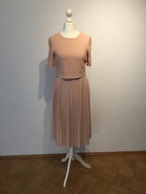 Kleid Zara Woman S NUDE Altrosa