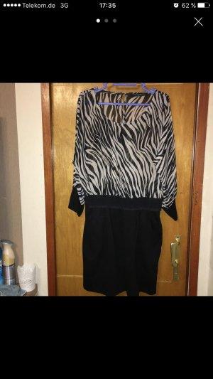 Kleid Zebra mit Stretchrock