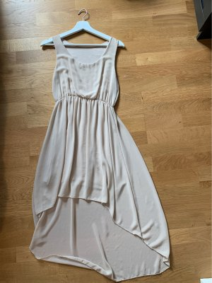 High Low Dress cream