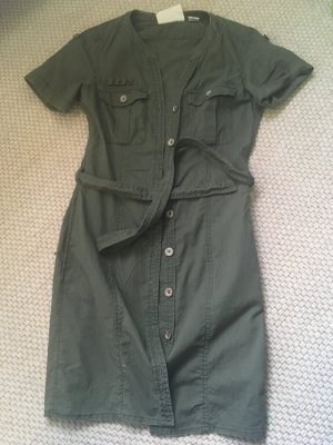 H&M Shirtwaist dress khaki