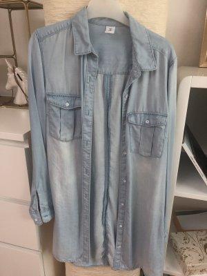 H&M Denim Shirt light blue