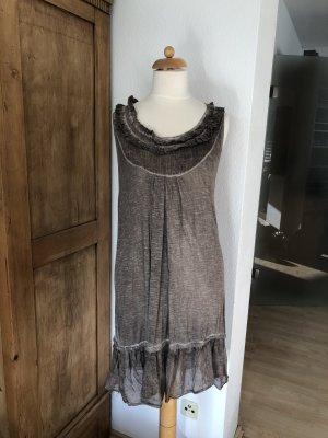 Kleidchen, ärmellos, Baumwolle & Seide