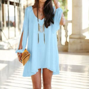 Kleidchen in babyblau