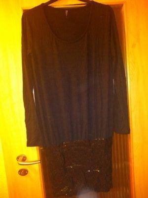 Takko Sequin Dress black-dark grey