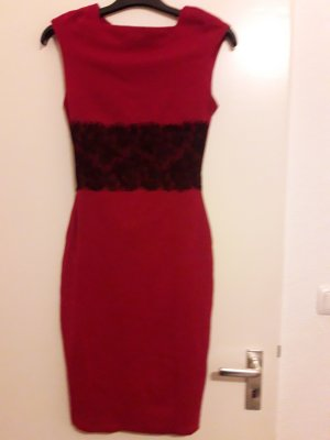 Avon Evening Dress dark red