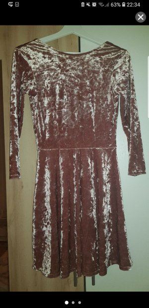 & other stories Midi Dress rose-gold-coloured