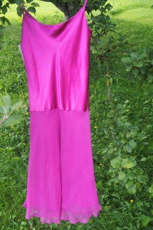 *Kleider Trend*Neues ungetragenes Traum Seidenkleid im Lingerie Style, radiant orchid, Gr. S, Bloggerstyle
