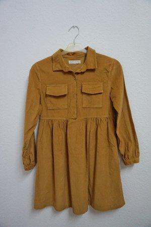 Zara Babydoll Dress sand brown