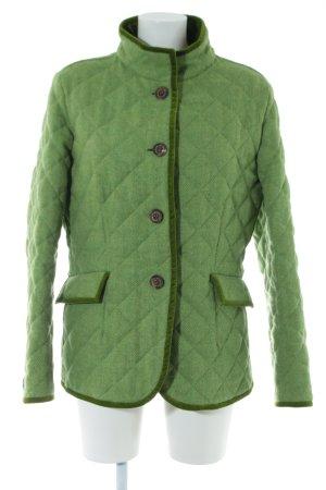 Kleidermanufaktur Habsburg Korte Jas groen-khaki volledige print