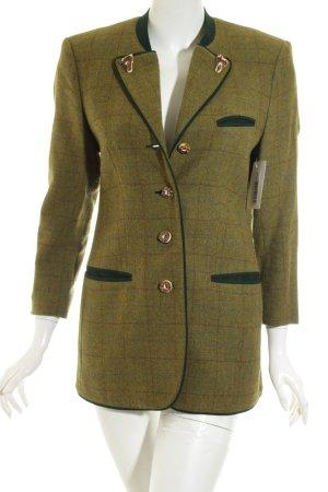 Kleidermanufaktur Habsburg Folkloristische jas grasgroen-lichtbruin