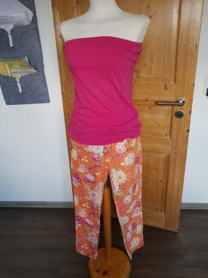 Kleiderpaket 7/8 Hose Blumenprint mit Top