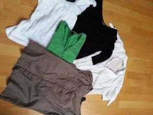 Kleiderpaket Set Zara H&M Bluse Weste Shirt XS 34 5 Teile