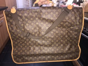 Louis Vuitton Borsa porta abiti marrone