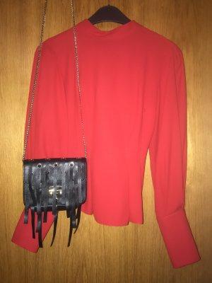 *Kleiderschrank Ausverkauf* Super schöne, feminine rote Bluse von Topshop, Größe 36